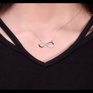 Infinity Bracelet & Necklace Jewelry Set